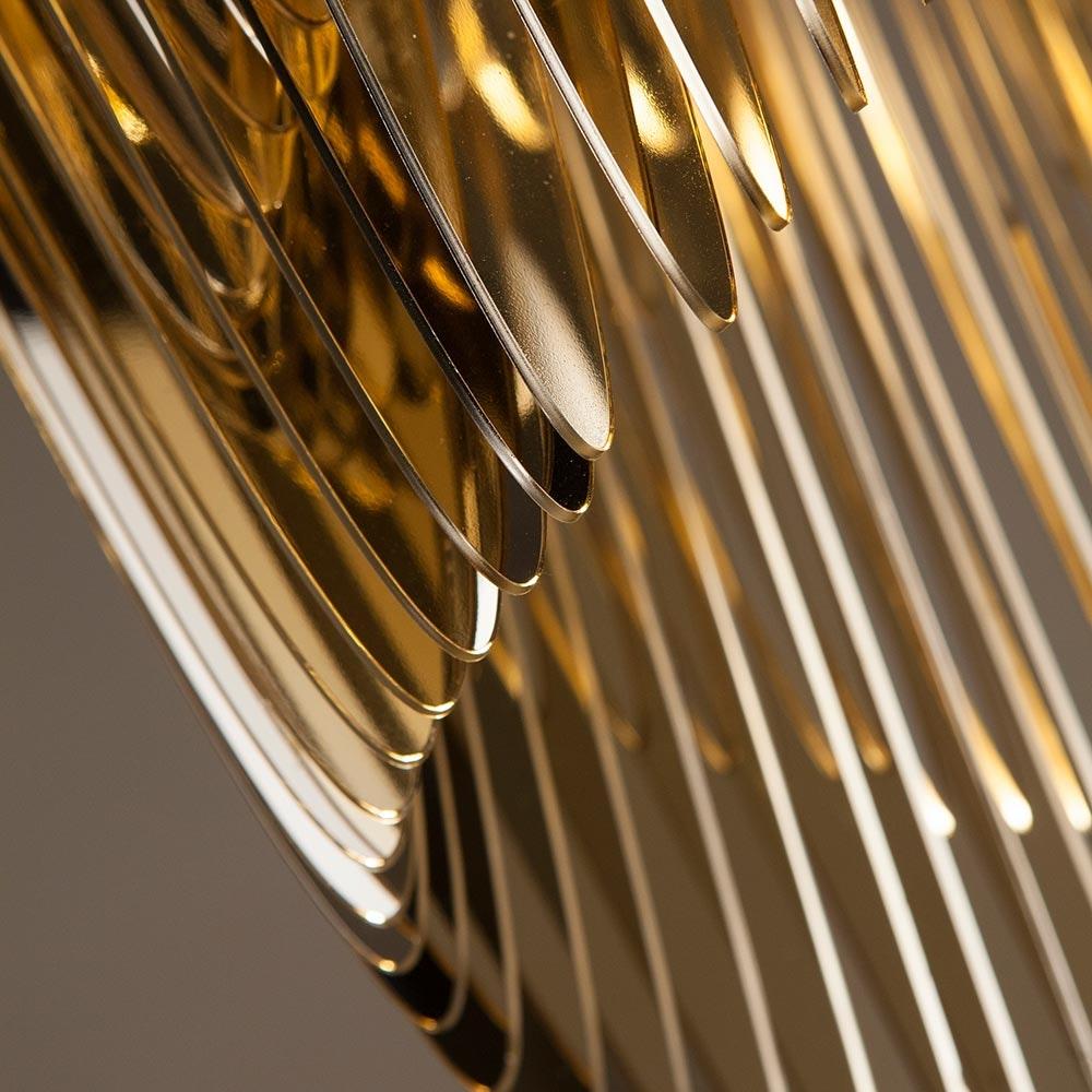 Slamp LED Hängelampe Aria Medium 3500lm 2700K Gold 6