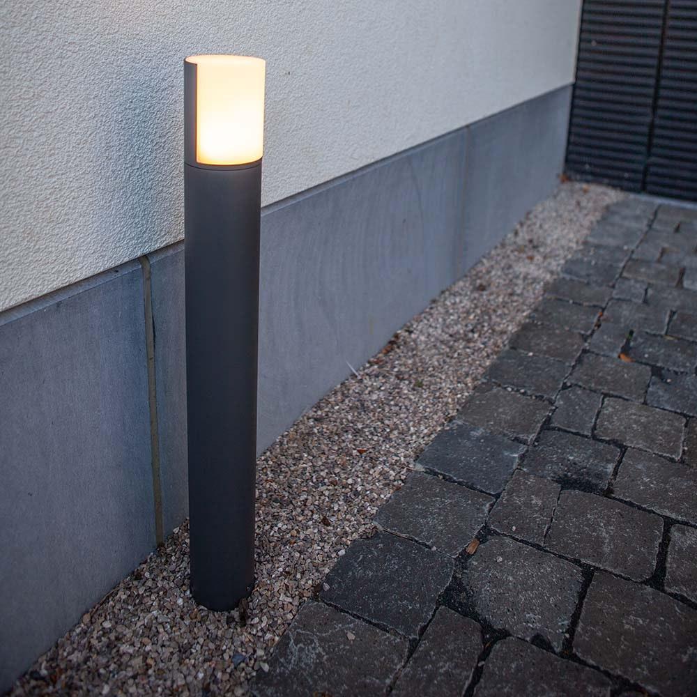 LED-Wegeleuchte Cyra mit drehbarem Kopf 1