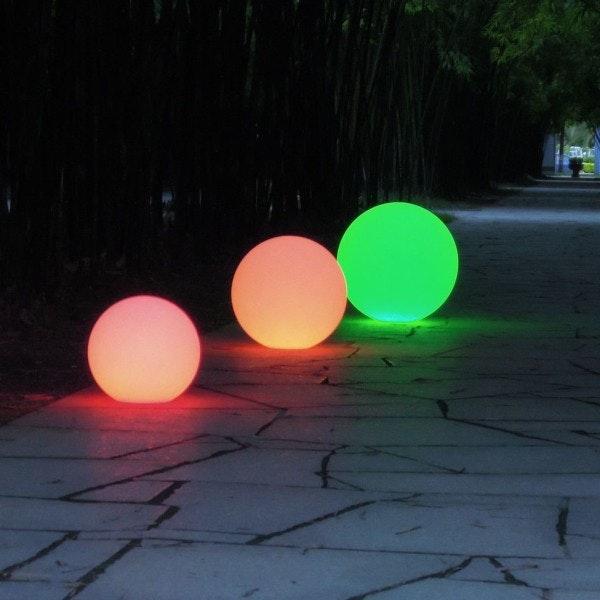 Licht-Trend Garten Kugellampe Avellan Ø60cm mit Erdspieß, 5 Meter Kabel 5