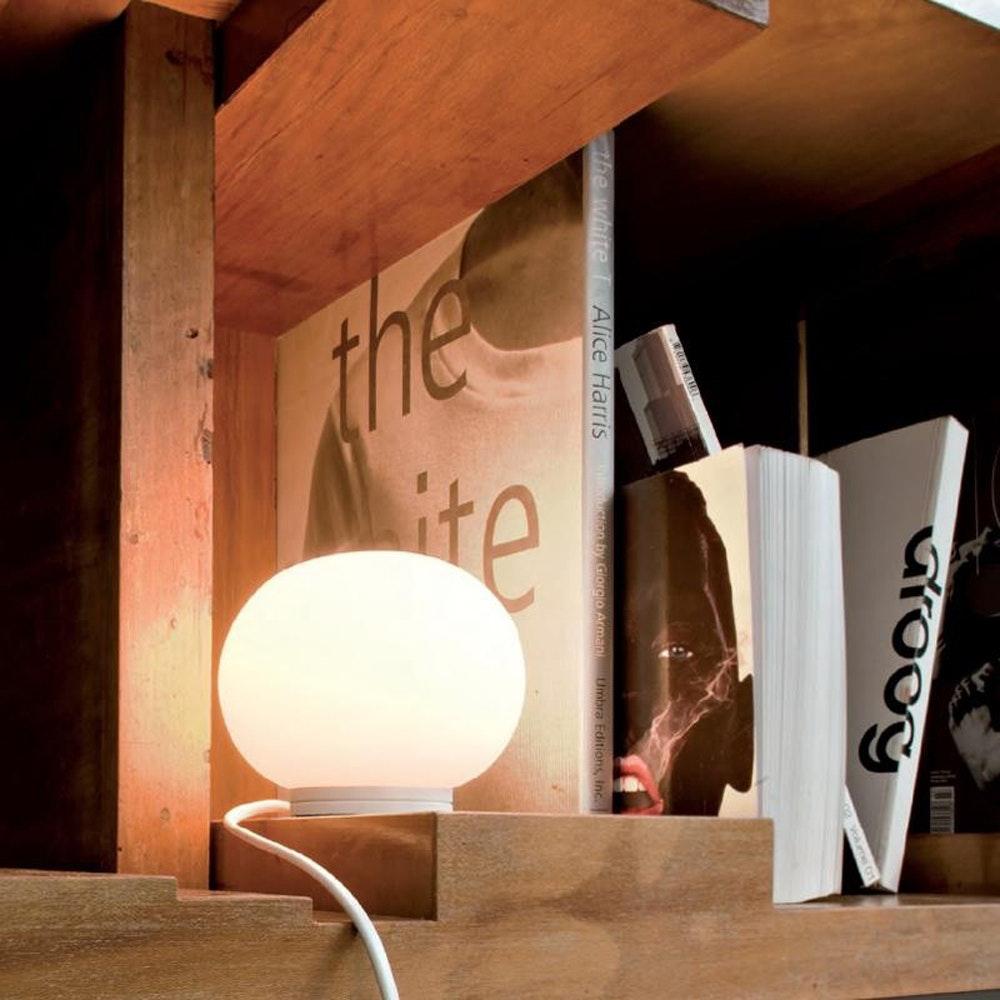 FLOS Mini Glo-Ball T Glas Tischlampe Ø 11cm 3