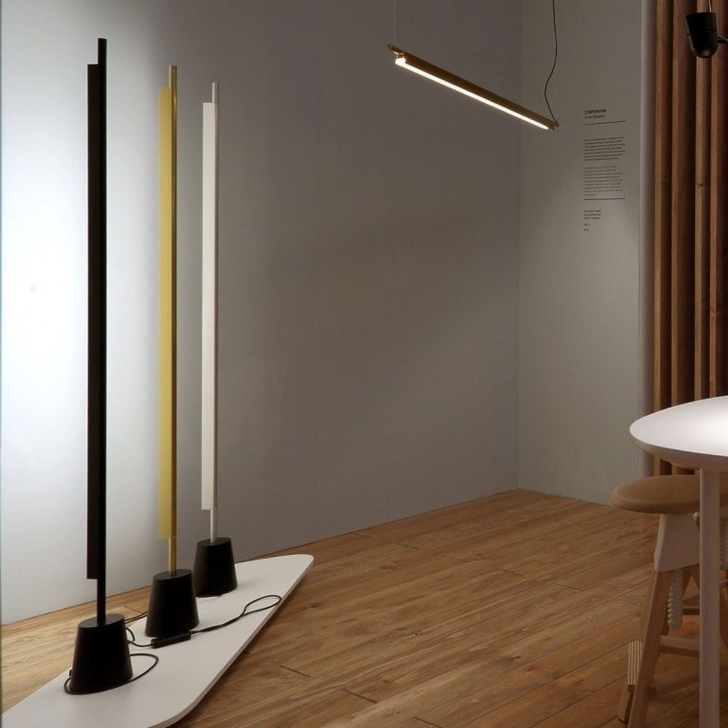 Luceplan Compendium LED Stehlampe (ohne Base) 3000K Schwarz 2