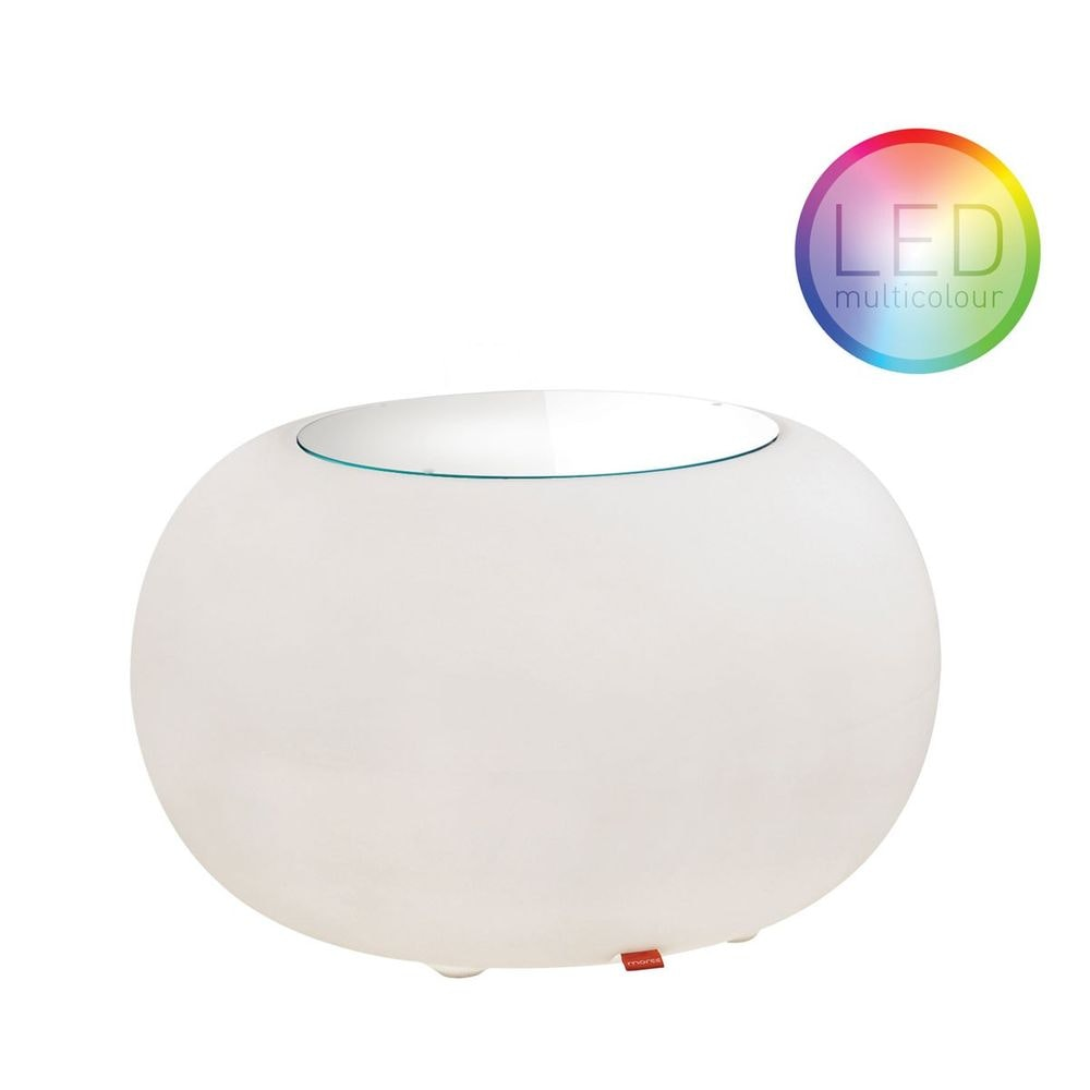 Moree Outdoor LED Tisch oder Hocker Bubble