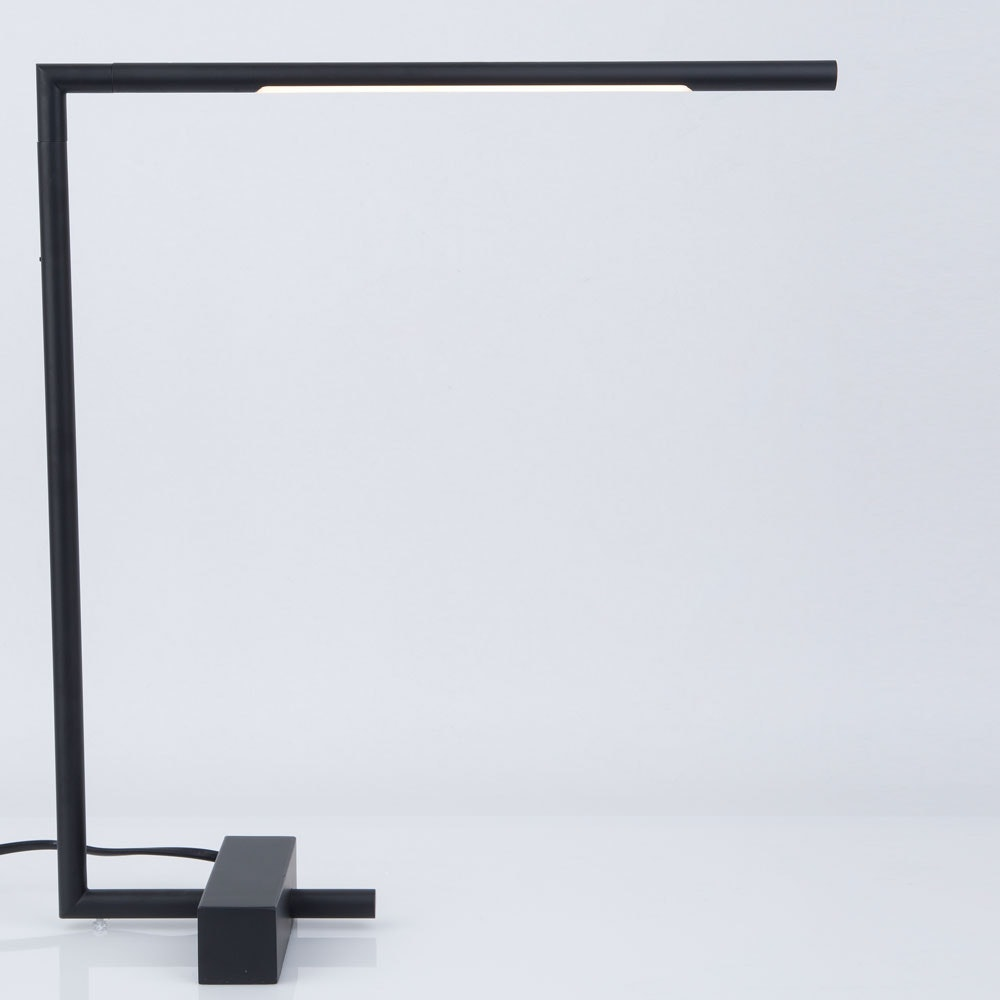 Nova Luce Raccio LED-Schreibtischlampe drehbar Schwarz thumbnail 4