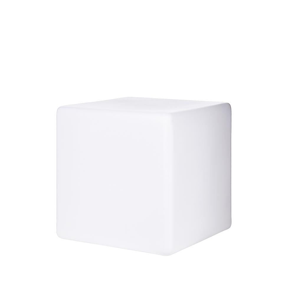 Luna Aussenleuchte Würfel 50 x 50cm Weiß 2