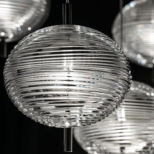 Lodes Jefferson LED Glas Hängelampe 5
