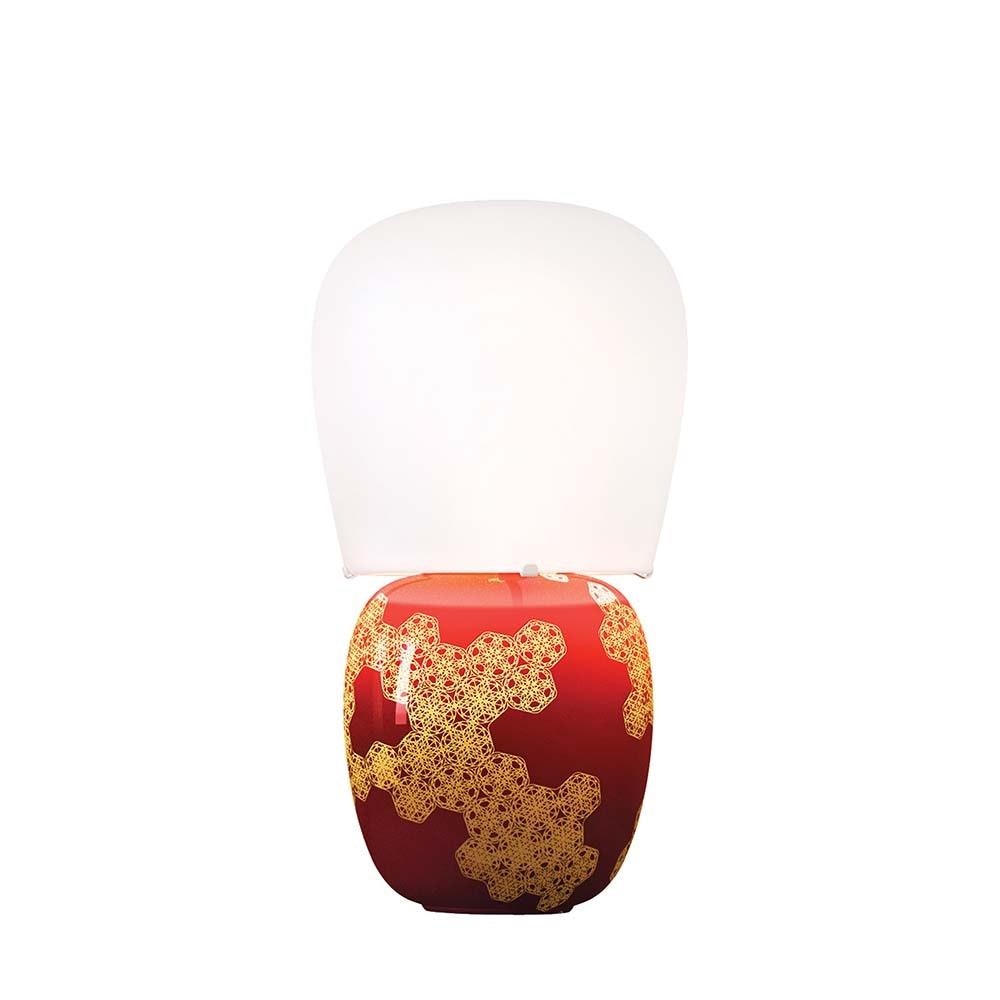 Kundalini Keramik Tischlampe Hive 47cm Dimmbar thumbnail 4