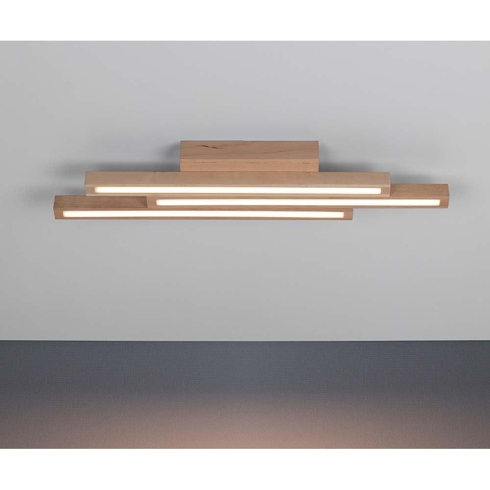 LED Deckenlampe Linus Straight 1680lm Birke 1