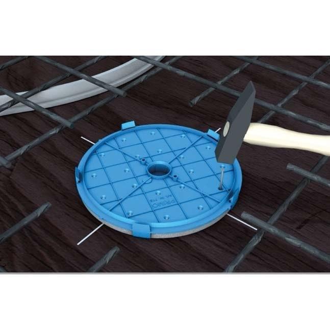 Leuchten-Einbaudose XL Ø 190mm für Betonbau 4