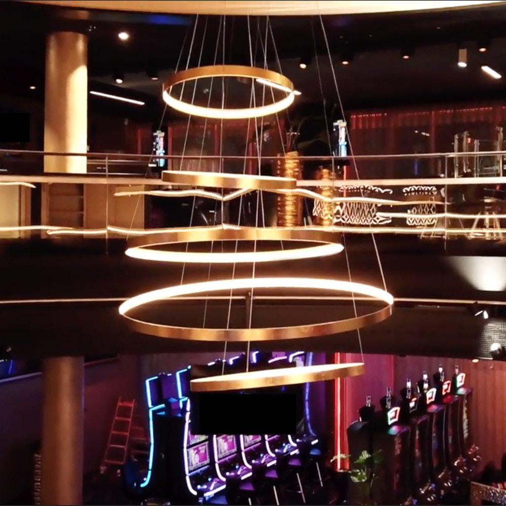 s.LUCE made LED Ring Ø 100-150cm individuell gefertigt