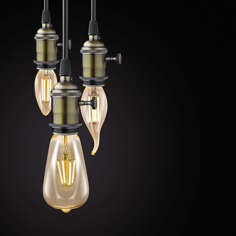 E27 LED Vintage Stab 3,5W 220lm Extra Warmweiß 2