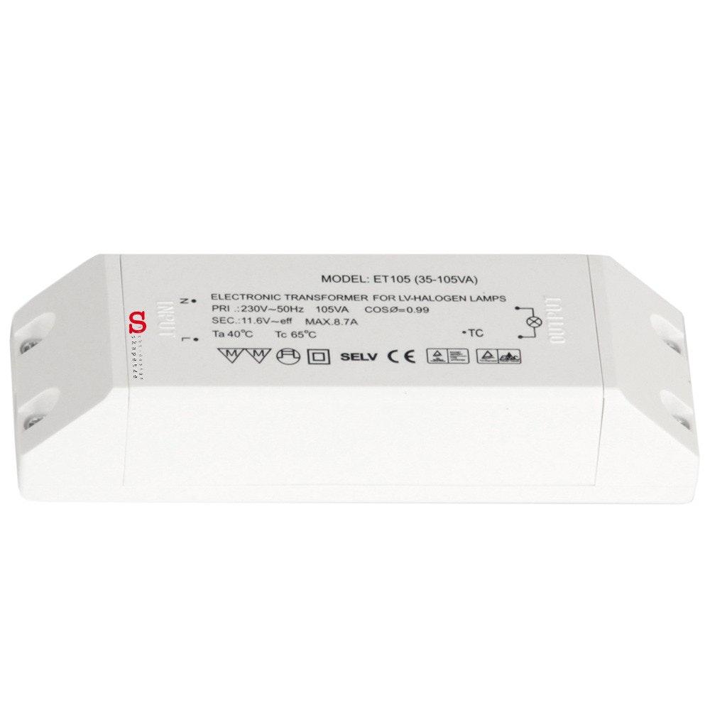 Elektronischer Halogen Trafo 12V 35-105VA