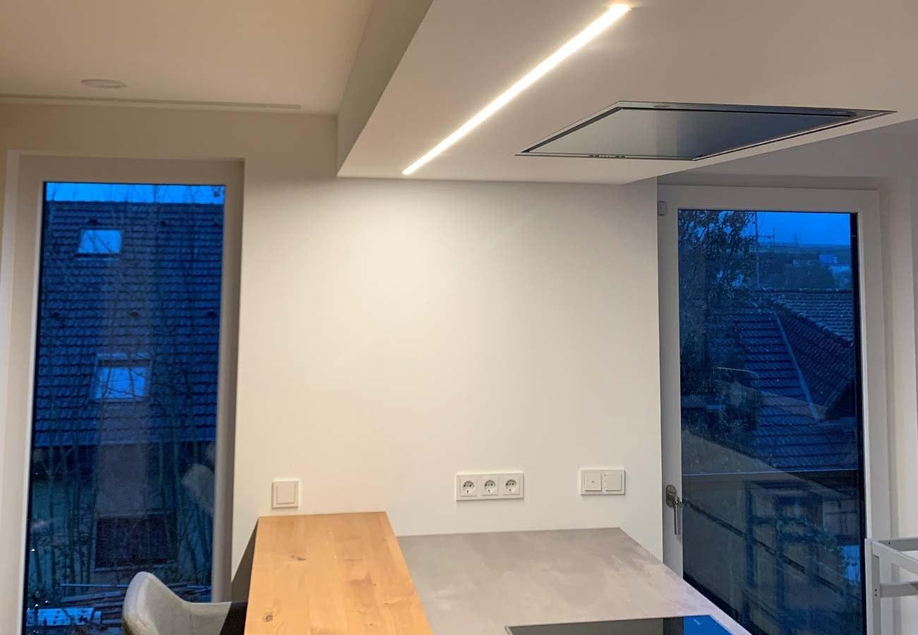 Kücheninselbeleuchtung Stripes