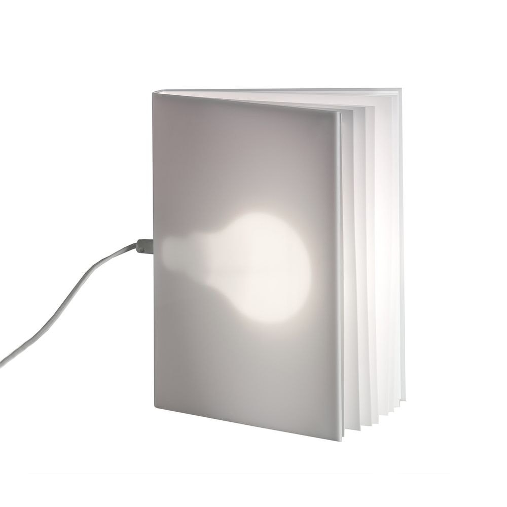 Tecnolumen BookLight Tischleuchte Buchleuchte Weiß 3