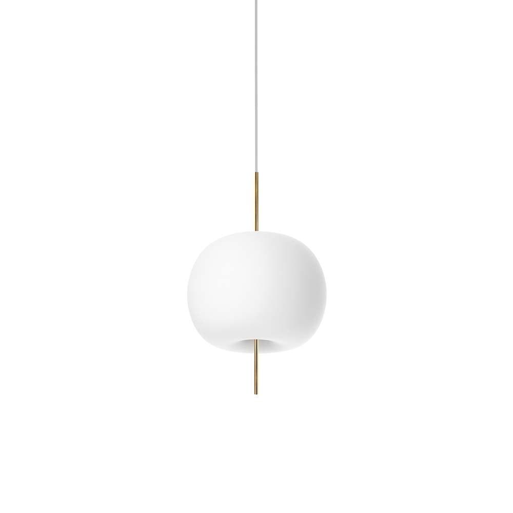 Kundalini Opalglas LED Pendelleuchte Kushi Ø 16cm 2