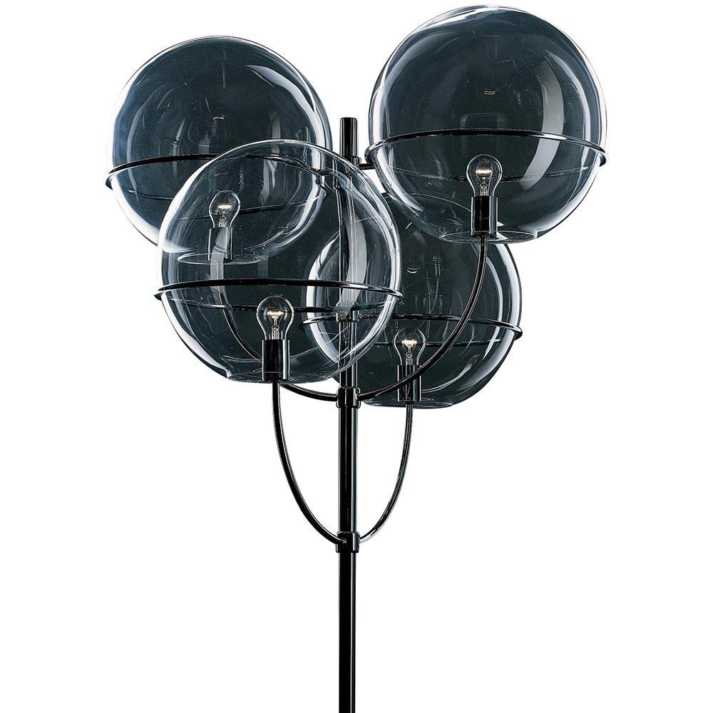 Oluce Aussen-Laterne Stehlampe Lyndon 300 Schwarz 2