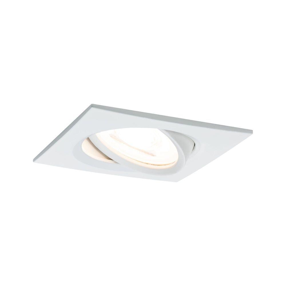 Einbaustrahler LED Nova eckig 3-Stufen Dimmbar Weiß 1