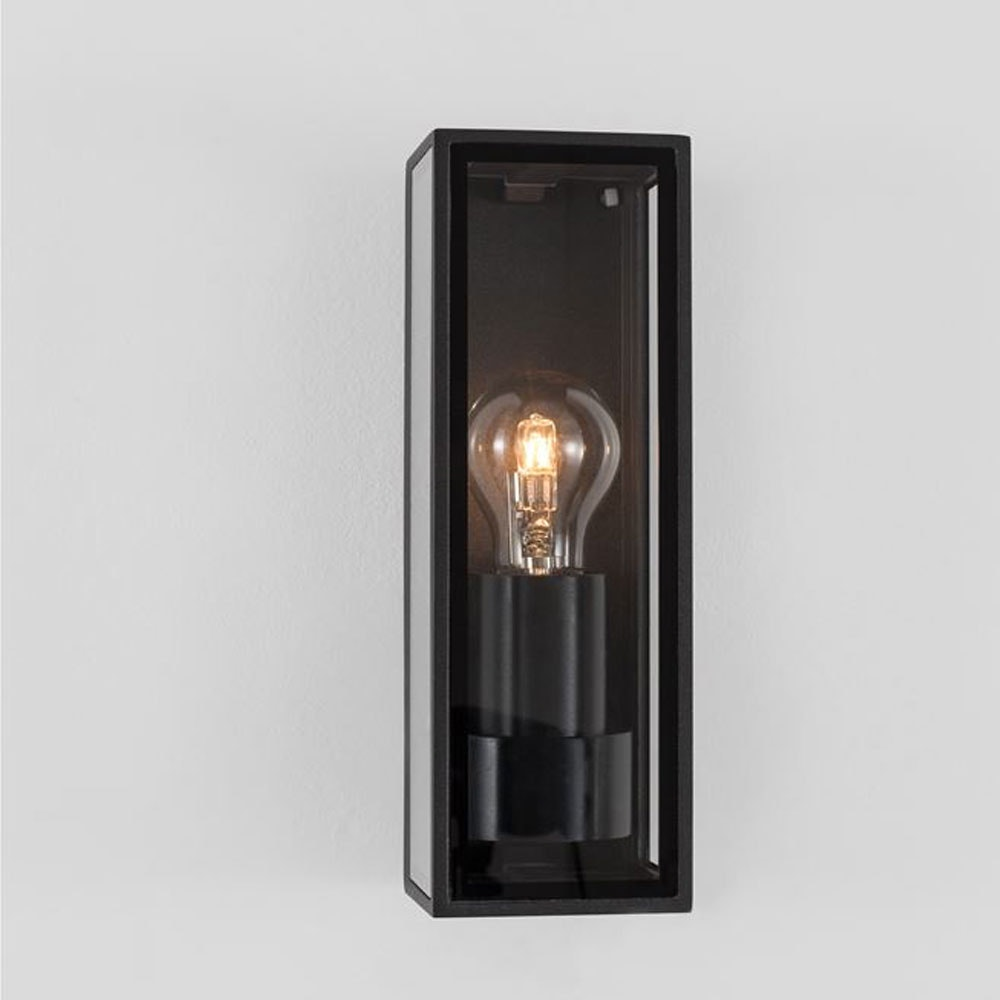 Nova Luce Sorren Vintage Aussen Wandlampe Anthrazit thumbnail 3