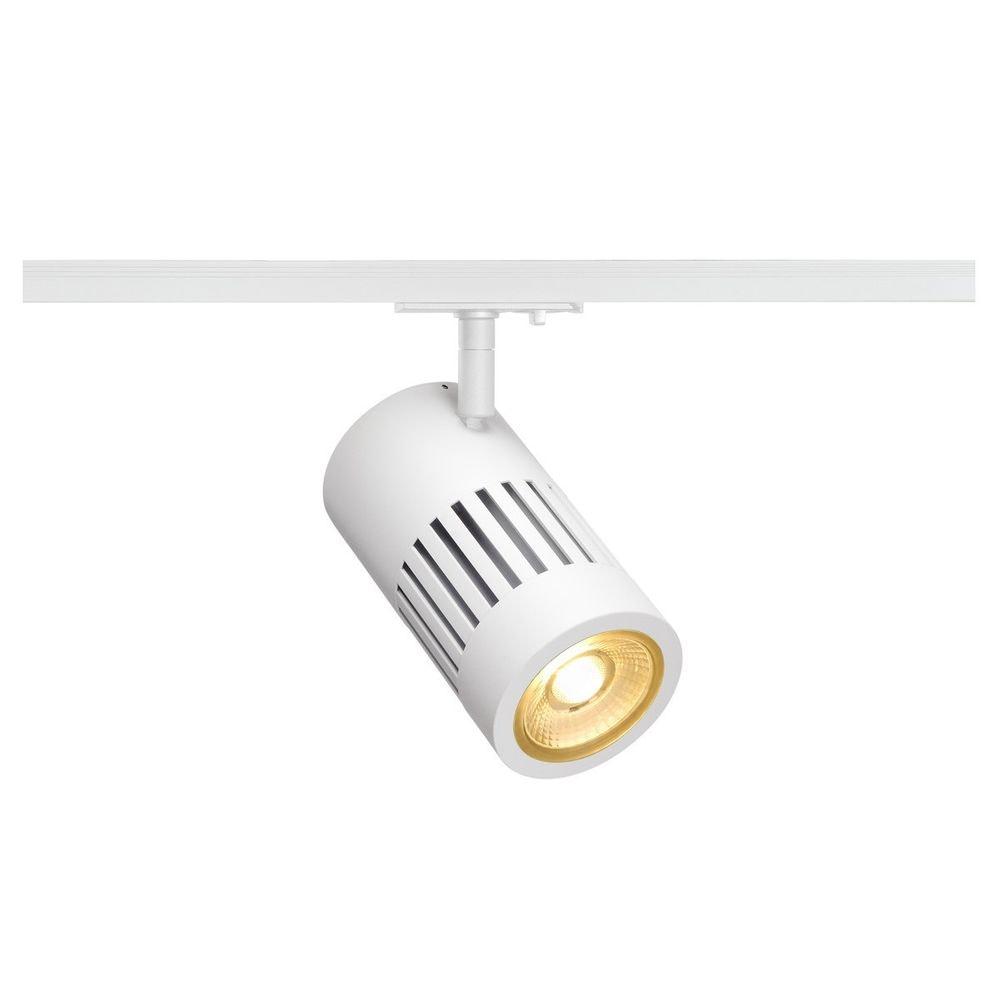 SLV Structec LED 24W rund Weiß 3000K 36° inkl. 1P.-Adapter