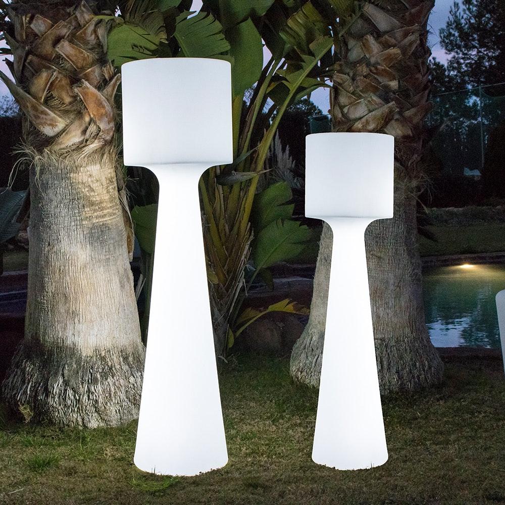Licht-Trend LED-Außen-Stehleuchte Grace 170cm mit Akku und Fernbedienung  4