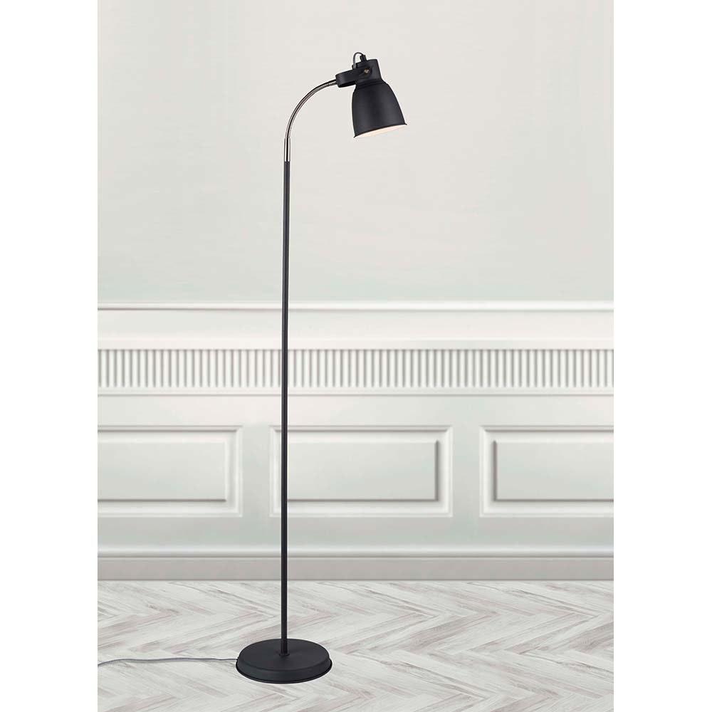 Nordlux Stehlampe Adrian Schwarz