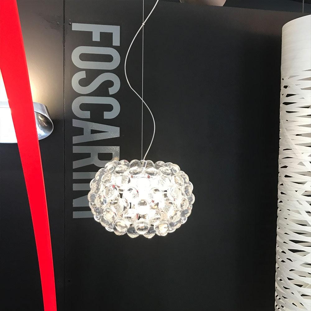 Foscarini Caboche Piccola Pendelleuchte Ø 31cm Klar 2
