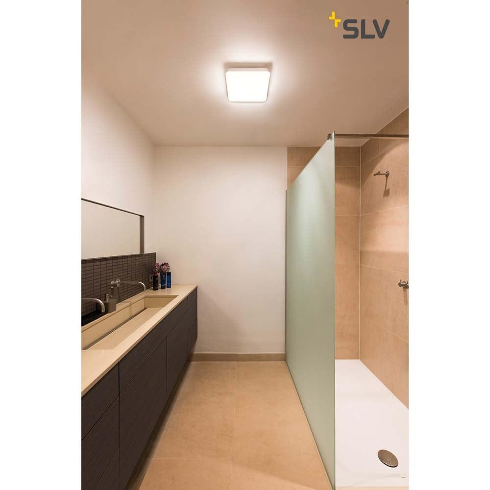 SLV Sima Wand- und Deckenleuchte LED 3000K Eckig mit RF-Sensor 2