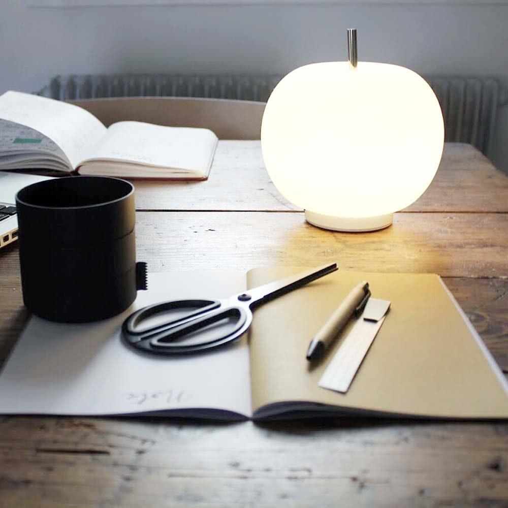 Kundalini LED Akku-Tischlampe Kushi Ø 16cm 13