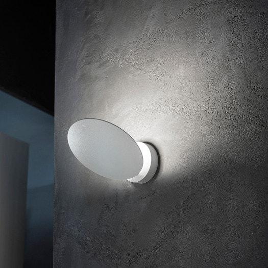 Studio Italia Design Puzzle Round Single LED Wand- & Deckenlampe