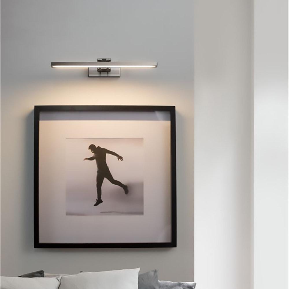 Nova Luce LED-Wandleuchte Marnell Silber 2