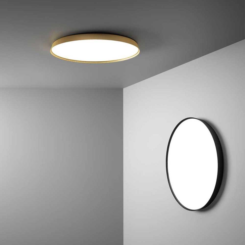 Luceplan LED Wand- & Deckenlampe Compendium Plate Ø 56cm 1