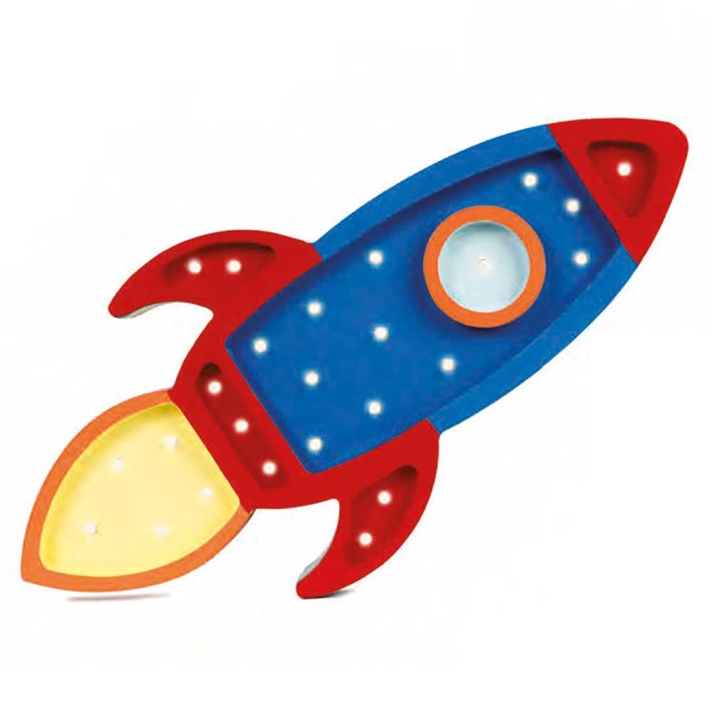 Little Lights Kinder Wand- & Tischleuchte Rakete  3