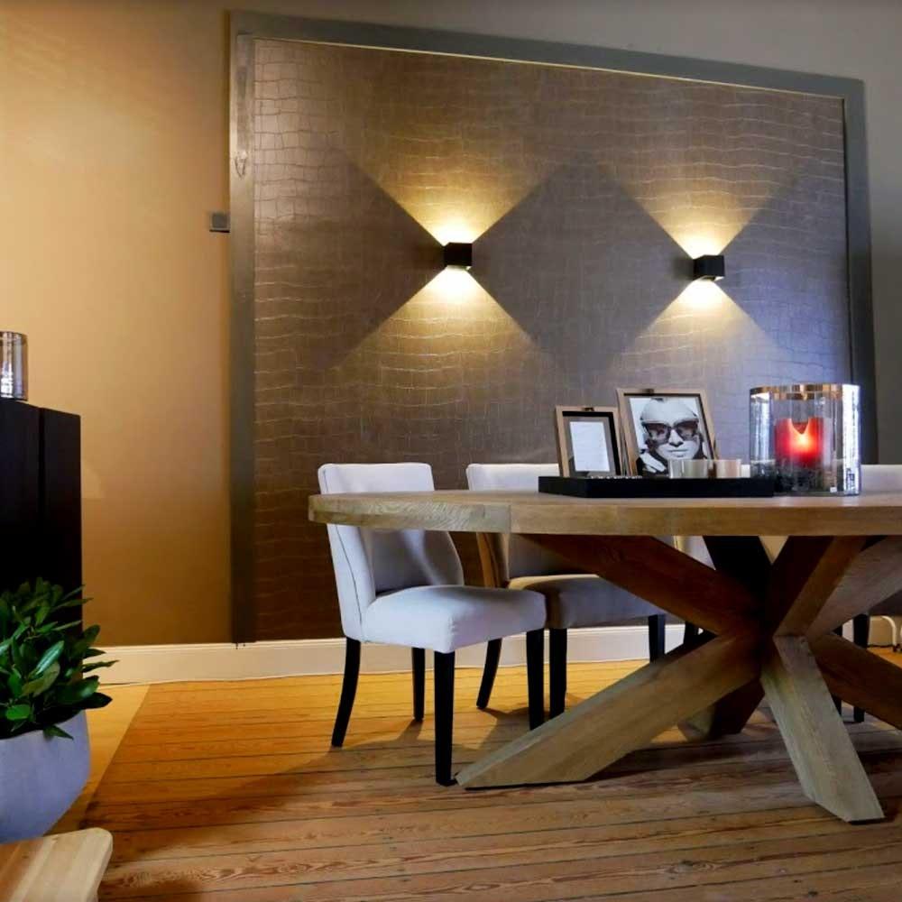 s.LUCE pro Ixa LED Innen- & Außen-Wandleuchte IP44 5