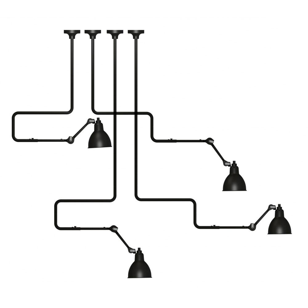 DCW Gras N°312 L Deckenlampe mit Ausleger 15