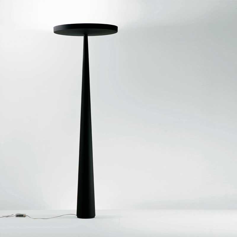 Prandina riesige Stehlampe Equilibre F3 Schwarz