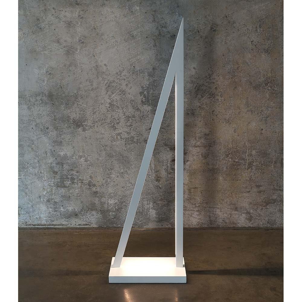 LED Stehleuchte Segel Touch-Dimmer 3000lm Weiß 2