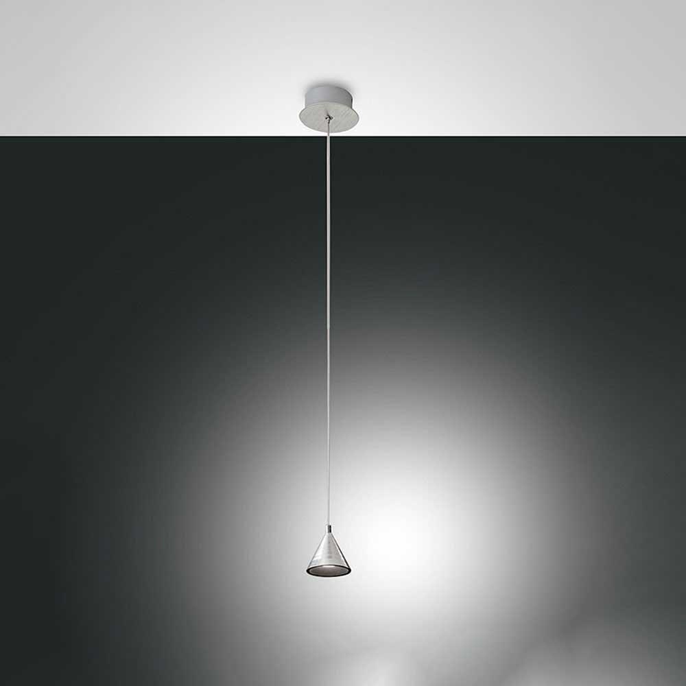 Fabas Luce LED Pendelleuchte Delta Metall 1
