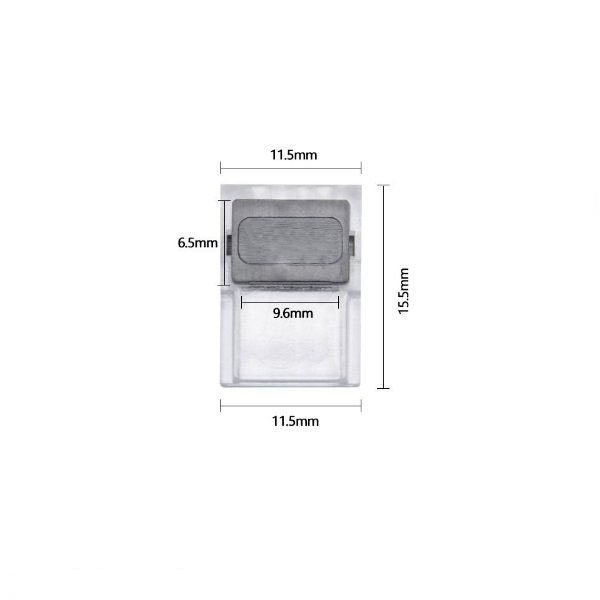 Clip-Flexverbinder für 2-pol. LED-Strip 10mm 2