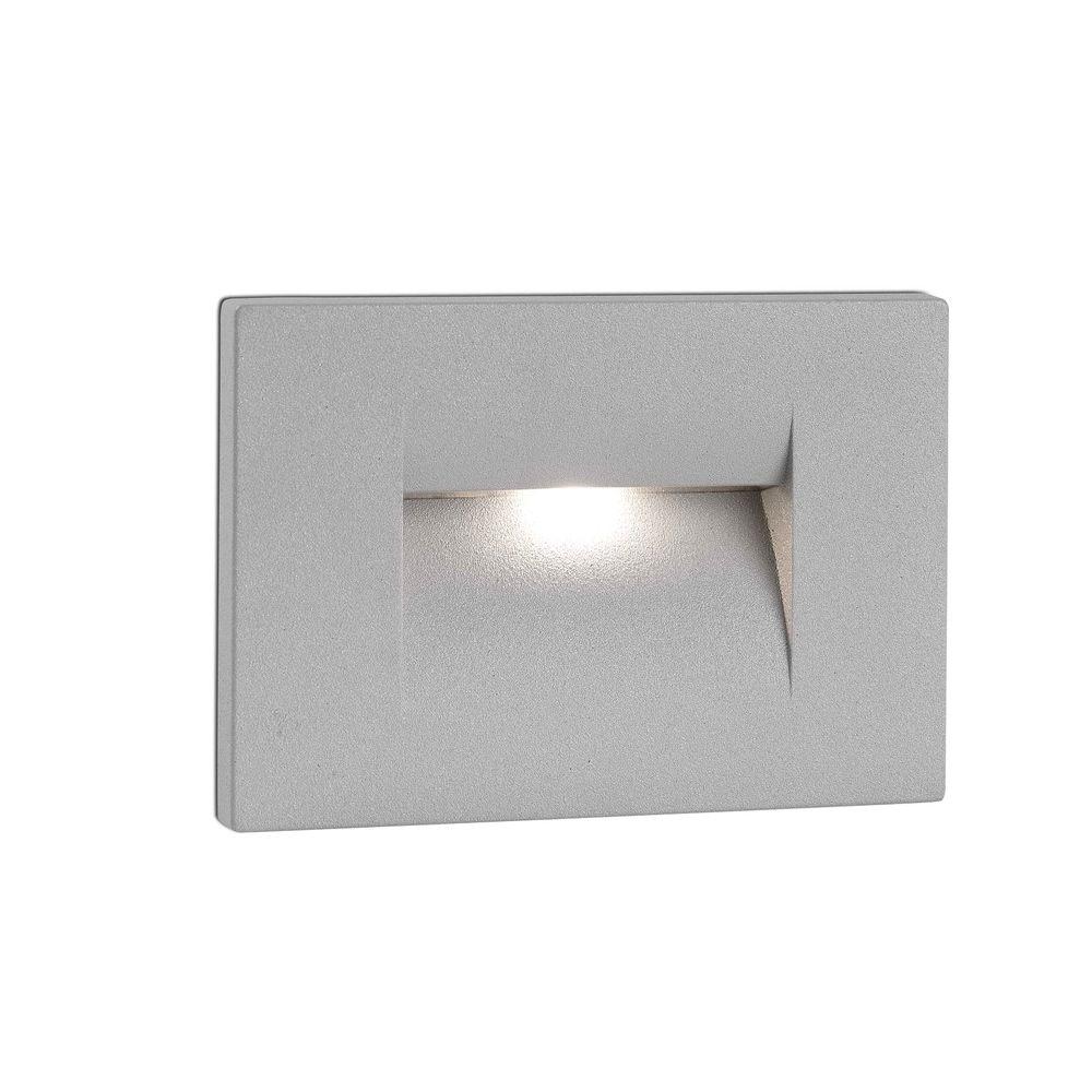 LED Wand-Einbauleuchte HORUS-1 3000K IP65 Grau 2