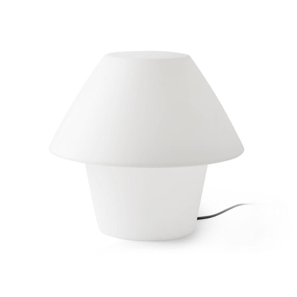 Außen-Tischlampe VERSUS-E IP44 Weiß 2
