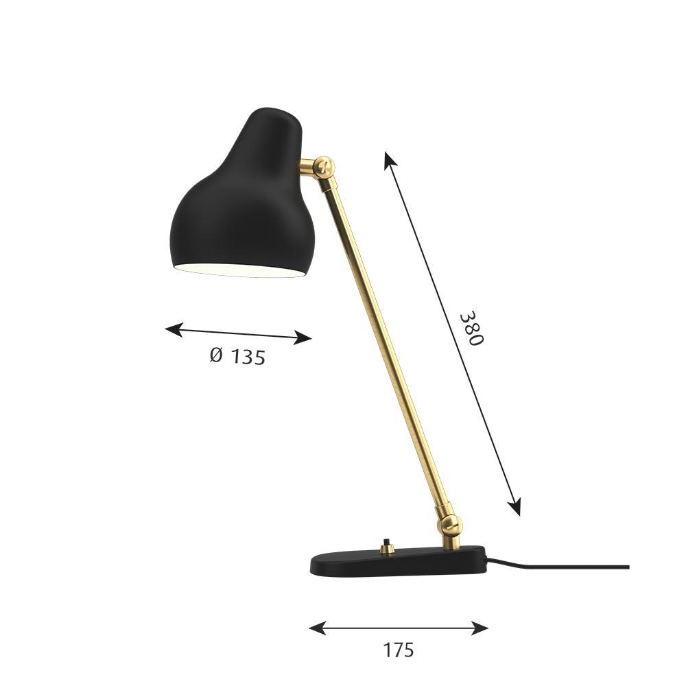 Louis Poulsen LED Tischlampe VL38 thumbnail 5