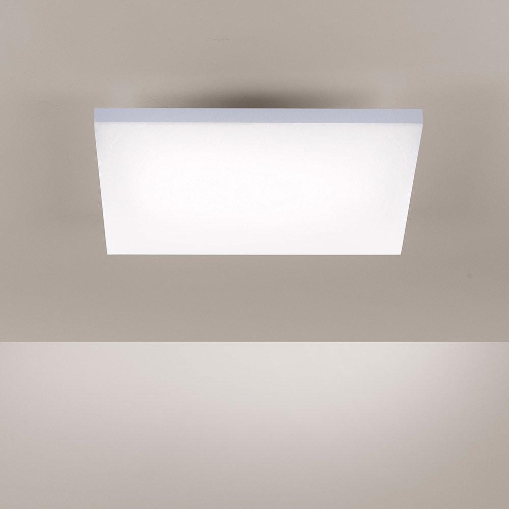 Q-Flat 2.0 rahmenlose LED Deckenleuchte 45 x 45cm CCT + FB Weiß thumbnail 5