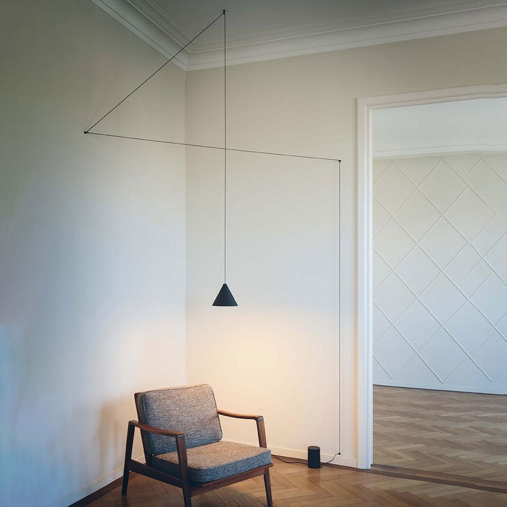 FLOS String Light Kegelkopf Pendelleuchte LED 1
