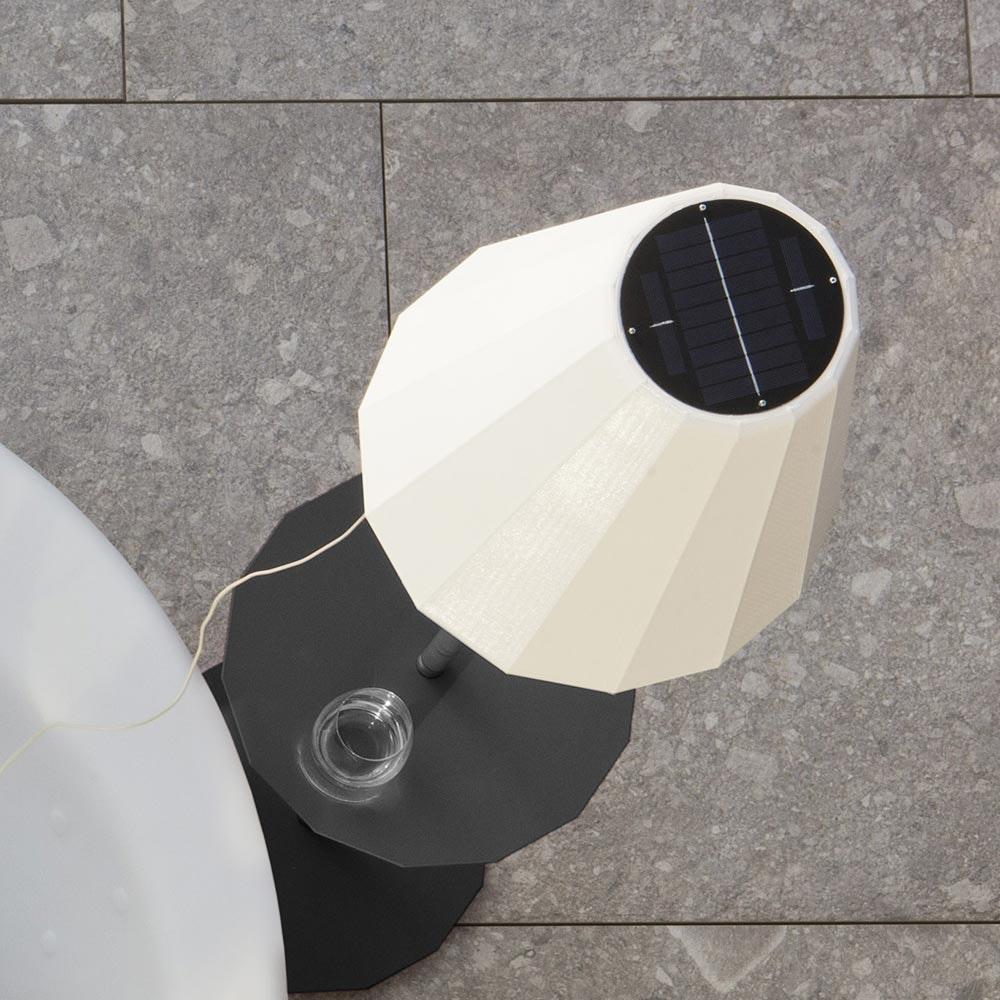 Licht-Trend LED Solar-Stehleuchte Helga mit Fernbedienung  4