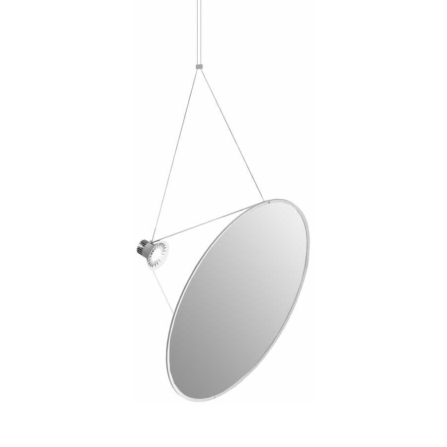 Luceplan Amisol LED Hängelampe (Körper) 53W 3000K Dimmbar Hellgrau thumbnail 6