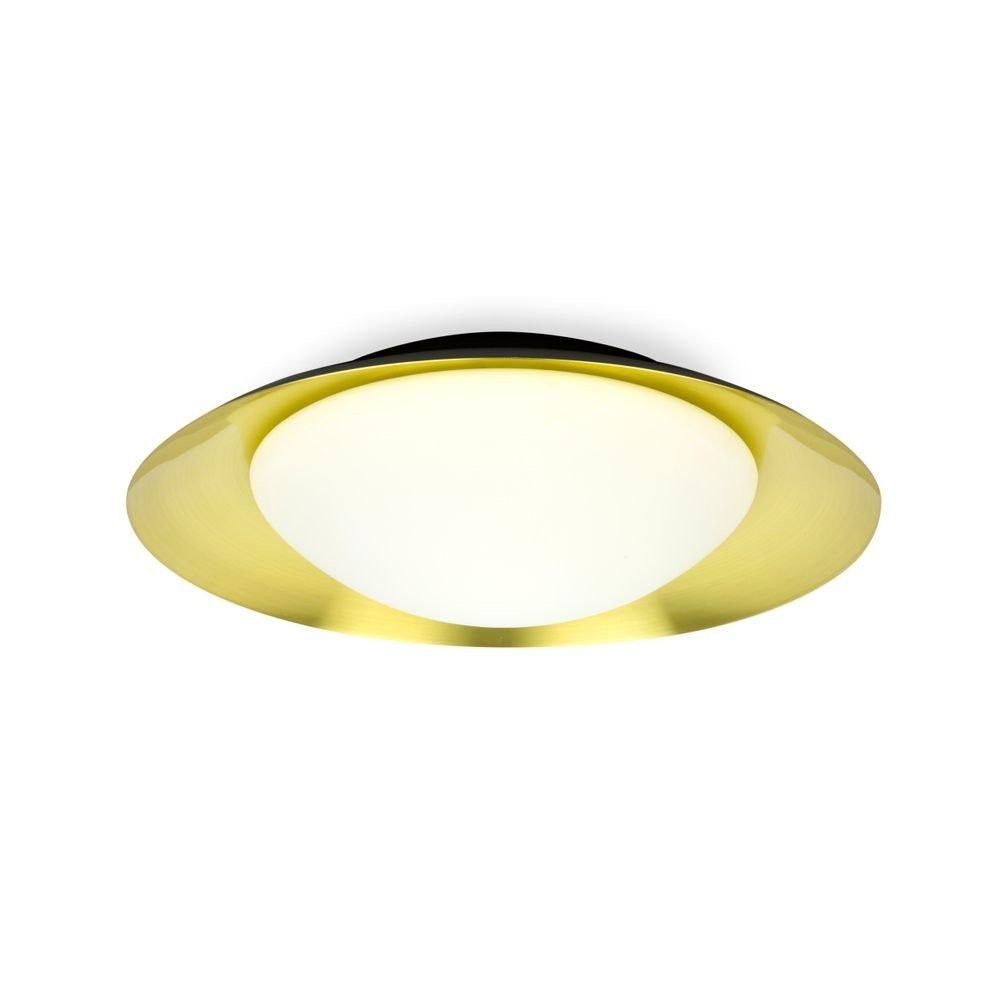 LED Deckenleuchte SIDE 20W IP20 Schwarz, Goldfarben