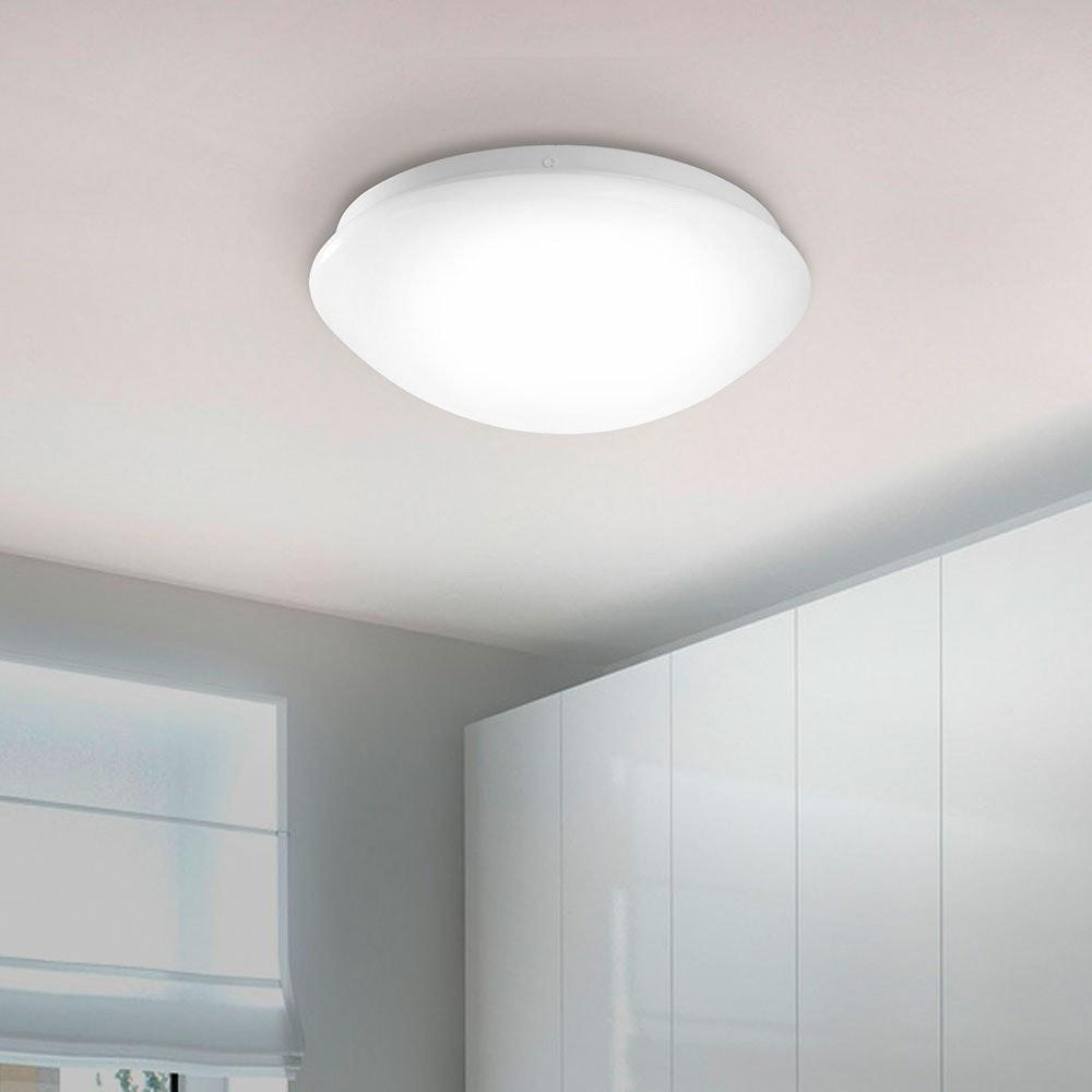 Andrea-LED Deckenleuchte mit Schirm 8W 3000K Weiß 1