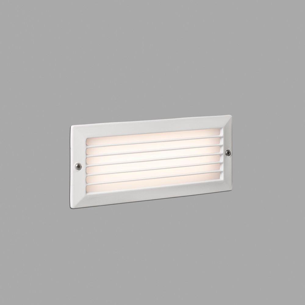 LED Wandeinbaulampe STRIPE-1 3000K IP54 Weiß