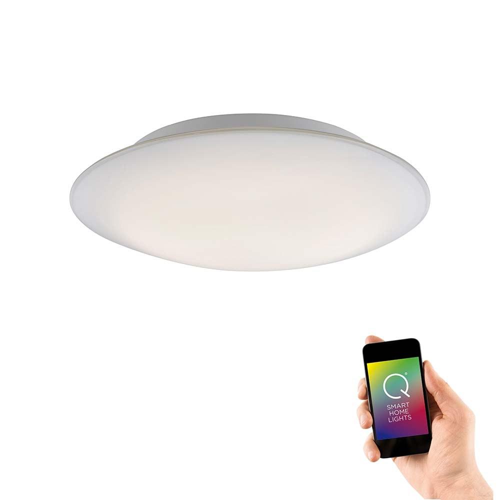 LED Deckenleuchte Q-Arktis RGB+CCT 1