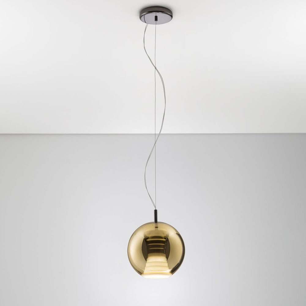 Fabbian Beluga Royal LED-Pendelleuchte Ø20cm 2