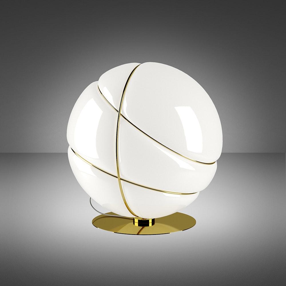 Fabbian Armilla Tischleuchte Gold 2